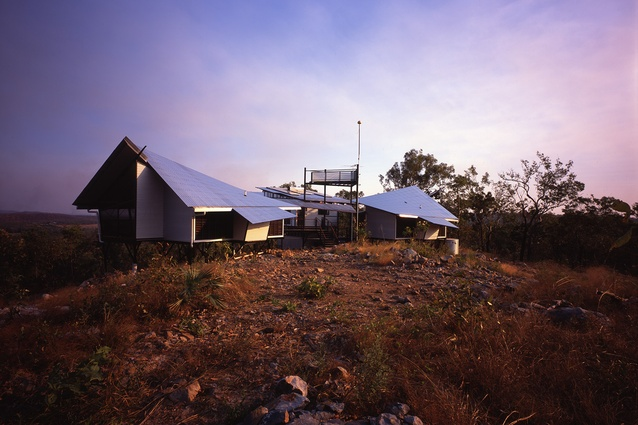 Rozak House, Lake Bennett, NT, 2001.