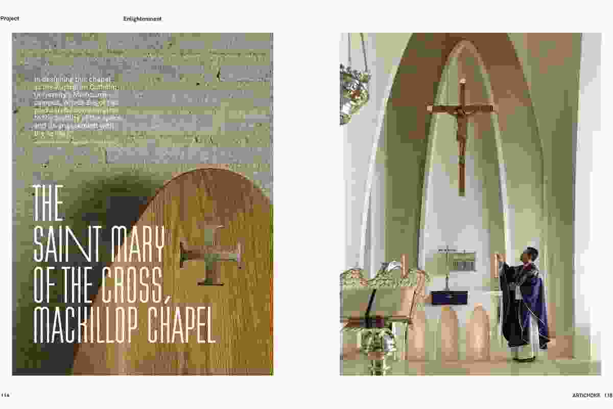Saint Mary of the Cross, MacKillop Chapel by Woods Bagot.