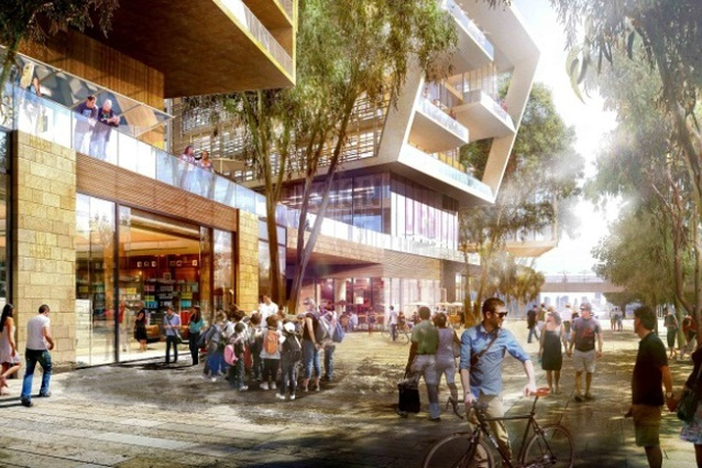 The masterplan for Barangaroo Central by Skidmore Owings and Merrill and Sydney firm Andersen Hunter Horne.