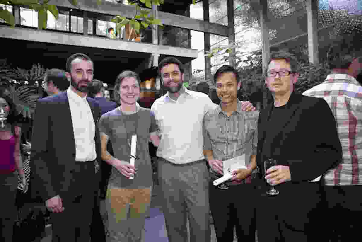 Timothy Moore; Lucy Warnock; Riccardo Rizzi, head of sustainability, ISIS; Ton Vu; and Richard Black.