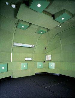 Interior of the SIAL sound studio.Image: Andrius Lipsys