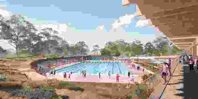 Parramatta Pool competition entry by Aileen Sage.