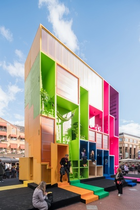 <i>(W)ego</i>, by Winy Maas in collaboration with MVRDV, The Why Factory and TU Delft.