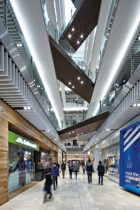 Emporium Melbourne features 225 stores over 48,000 square metres.