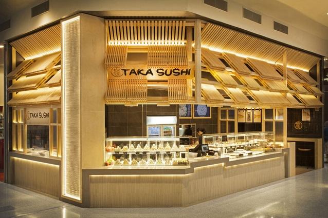 Taka Sushi by Span Design Studio