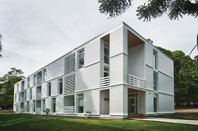 HMAS Creswell Griffith House by BVN Architecture.