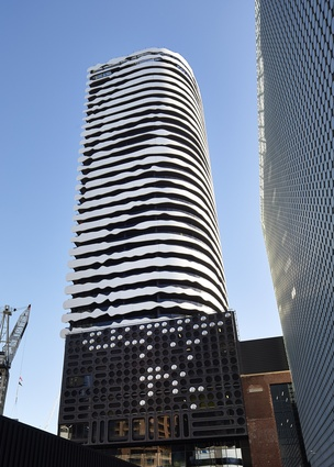 The Barak Building: Swanston Square by ARM Architecture.