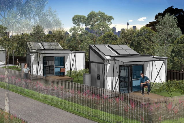 The Tiny Homes Foundation Pilot Project Designed By NBRS Architecture