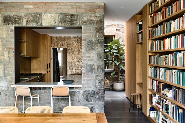Fitzroy House (Vic) by Rob Kennon Architect.