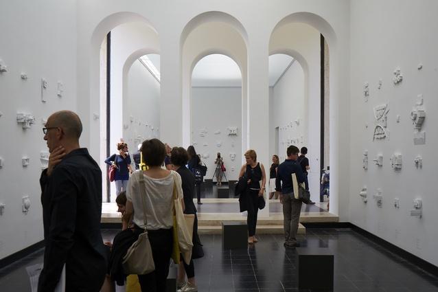 Austrian exhibition <i>Plenum: Places of Power</i>.