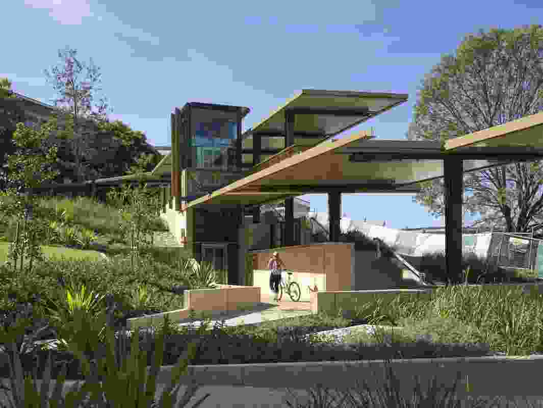 The St Lucia Lakes Link, University of Queensland by Cox Rayner Architects.