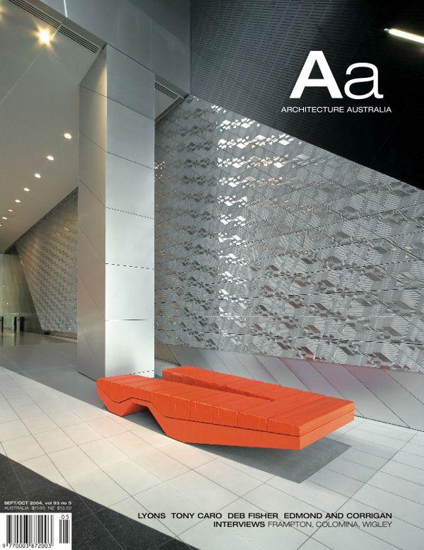 Architecture Australia, September 2004