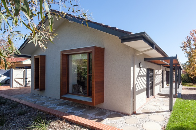 Altman Hinkson House by Philip Leeson Architects.