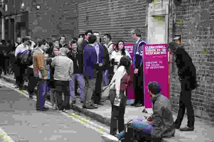 Clerkenwell Design week in London.