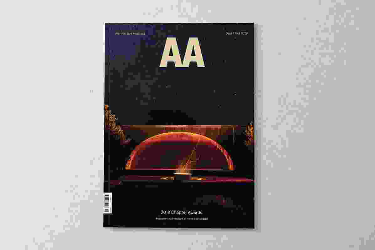 Architecture Australia September/October 2018.