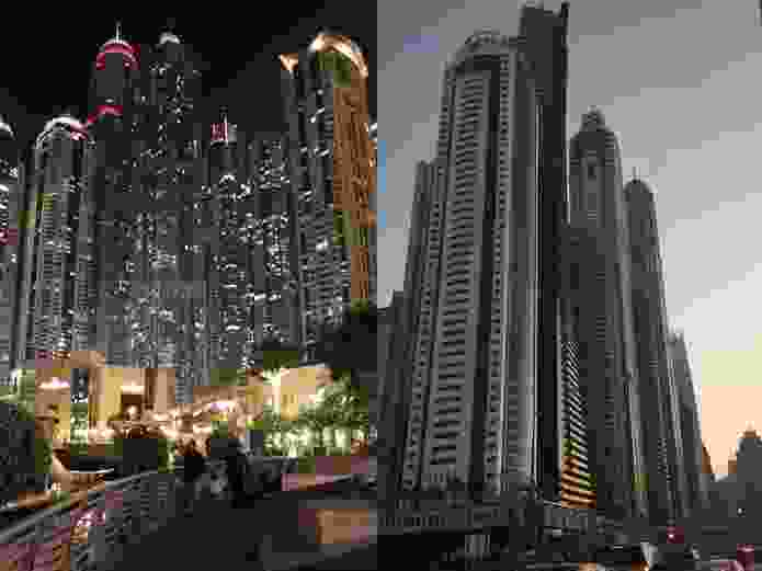 Dubai's architectural approach is best described as 'each to their own', with every tower vying to create its own visual identity.