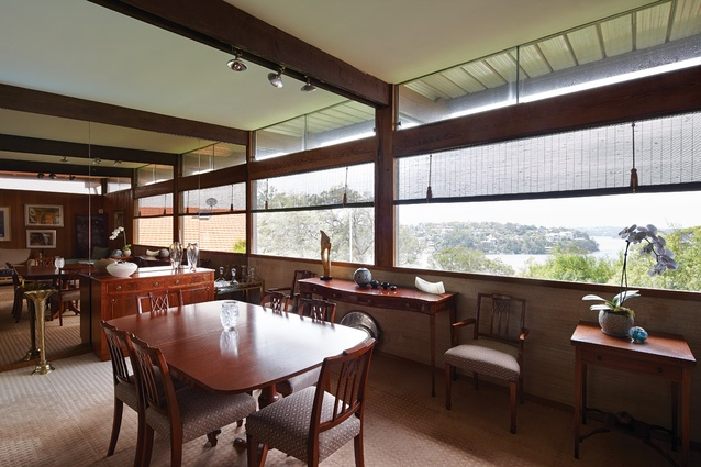 Elevating the main (courtyard) floor gives the house panoramic views, escaping the shadow of adjoining properties.