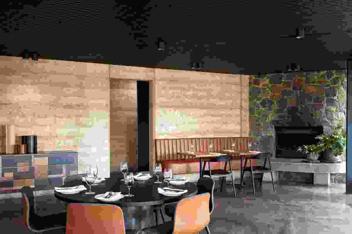 TarraWarra Estate Restaurant by Harrison Interiors / Karyne Murphy Studio.