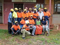 A northern Australian team at the end of a Survey Fix week.