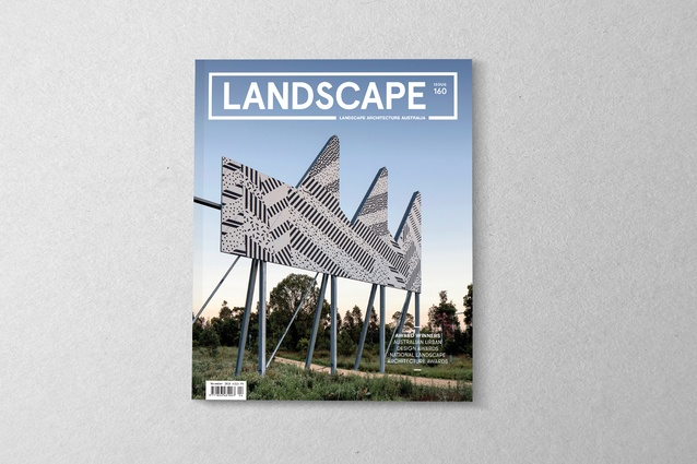 The November 2018 issue of Landscape Architecture Australia.