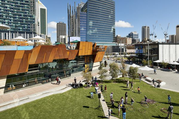 Yagan Square by Aspect Studios, Lyons Architecture and Iredale Pederson Hook