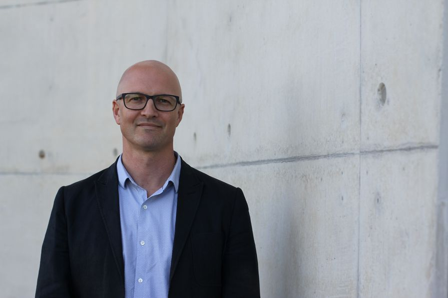 Western Sydney University's new chair of architecture, Professor Chris Knapp.