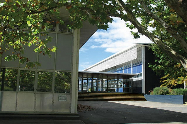 Red Hill Primary School by the Department of Works, 1960.