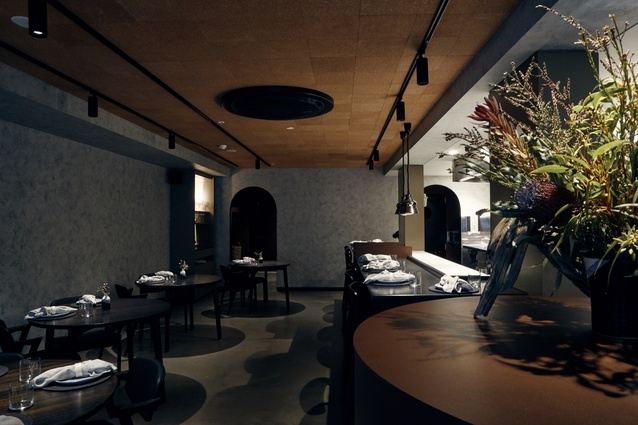 Restaurant Navi by Finnis Architects.