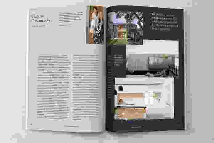 Houses magazine's fresh new look, designed by Janine Wurfel of Studio Metrik.