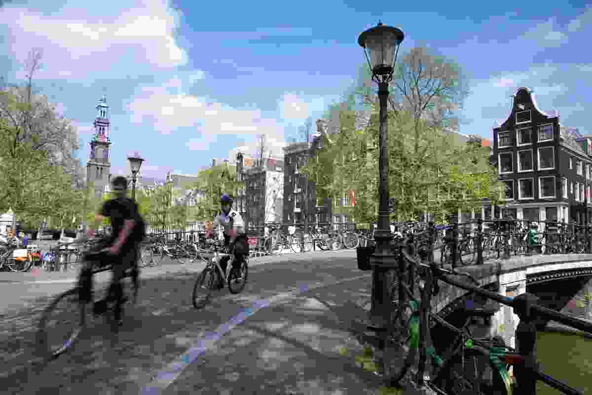 The vision for a Velotopia, a bicycle-oriented utopia, is already played out in some European cities such as Amsterdam.