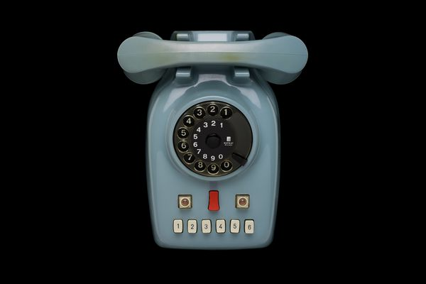 2+7 Telephone. Designed by Marcello Nizzoli, made by SAFNAT, Italy, 1958.