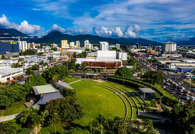 Cairns Performing Arts Precinct by Cox Architecture in association with CA Architects and Andrew Prowse Landscape Architect