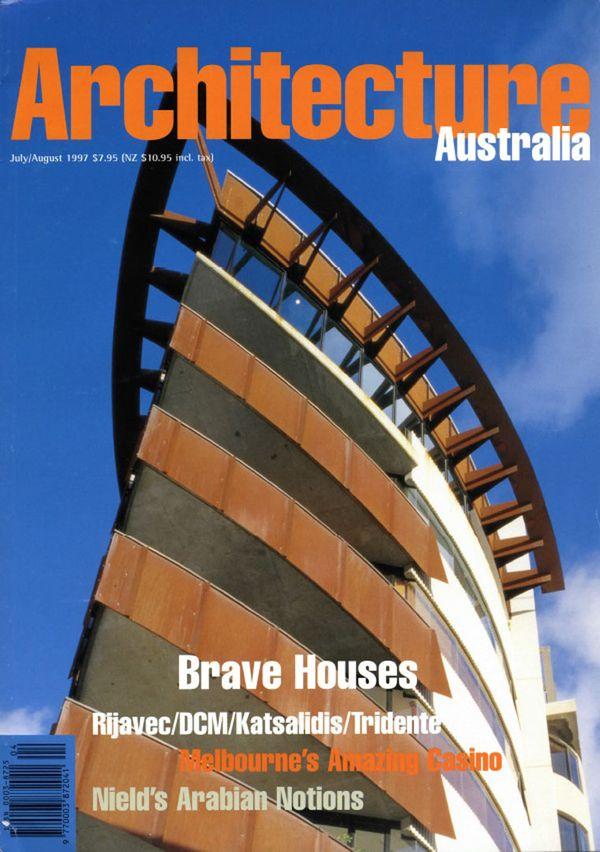 Architecture Australia, July 1997