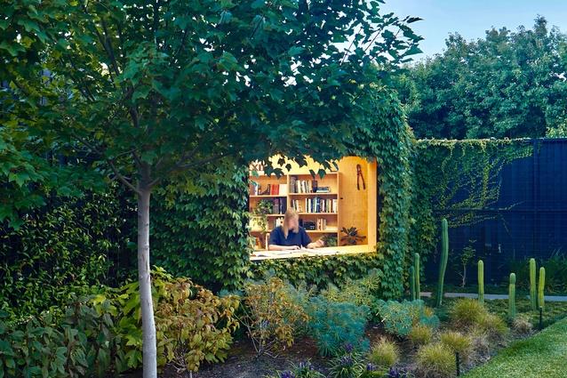 Writer's Shed by Matt Gibson Architecture and Design with Ben Scott Garden Design