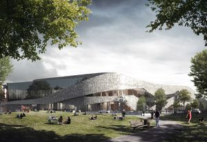 Te Pae, Christchurch Convention Centre by Woods Bagot with Warren and Mahoney.