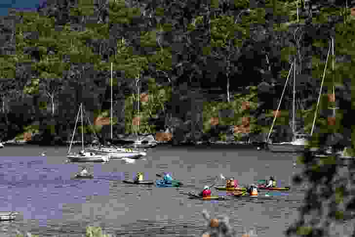 Clarence Kayak Trail by Inspiring Place.