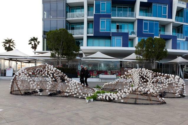 "Team X's ""Urban Cision"" at the Urban Realities: Landscape Urbanism three-day design challenge."