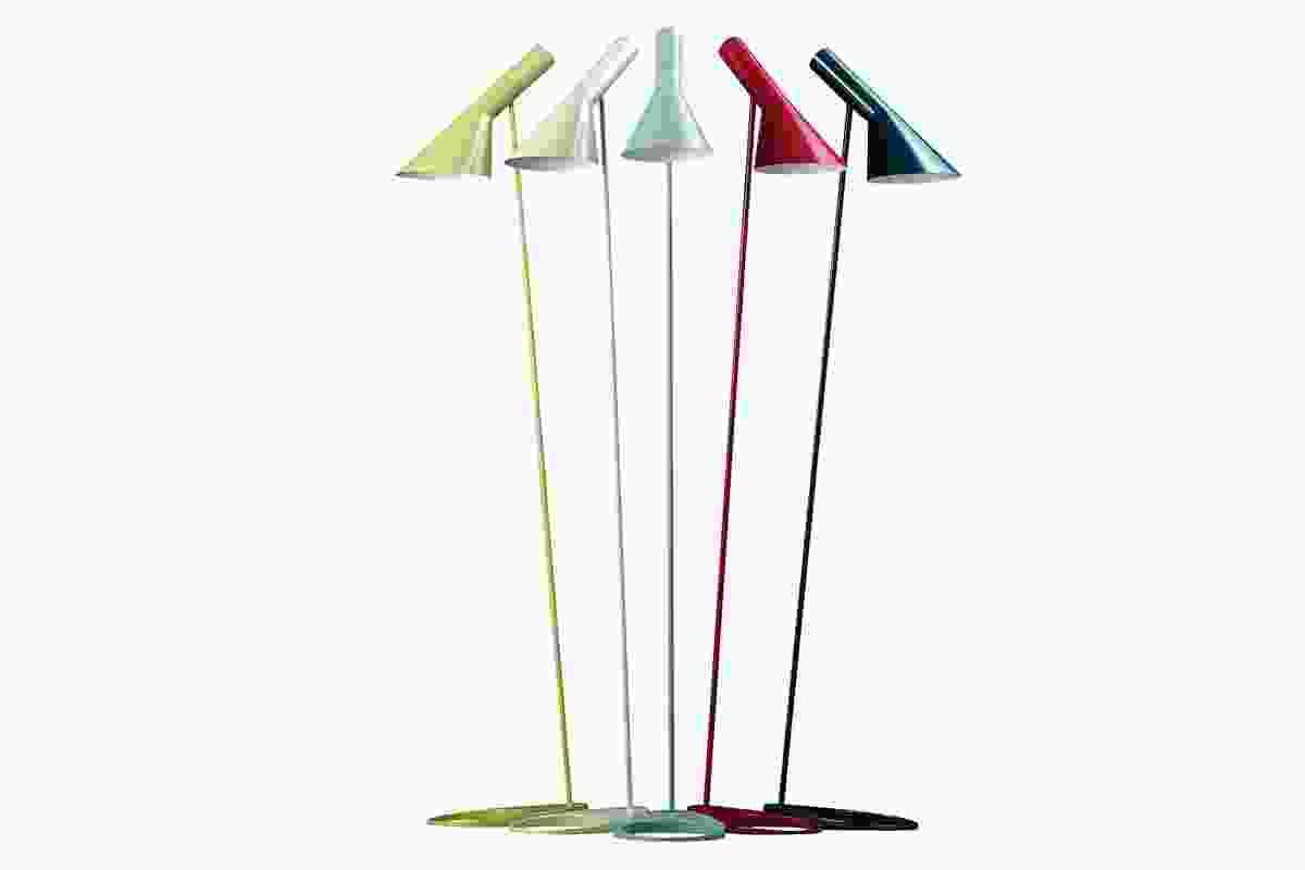 AJ Floor Lamp by Arne Jacobsen for Louis Poulsen.