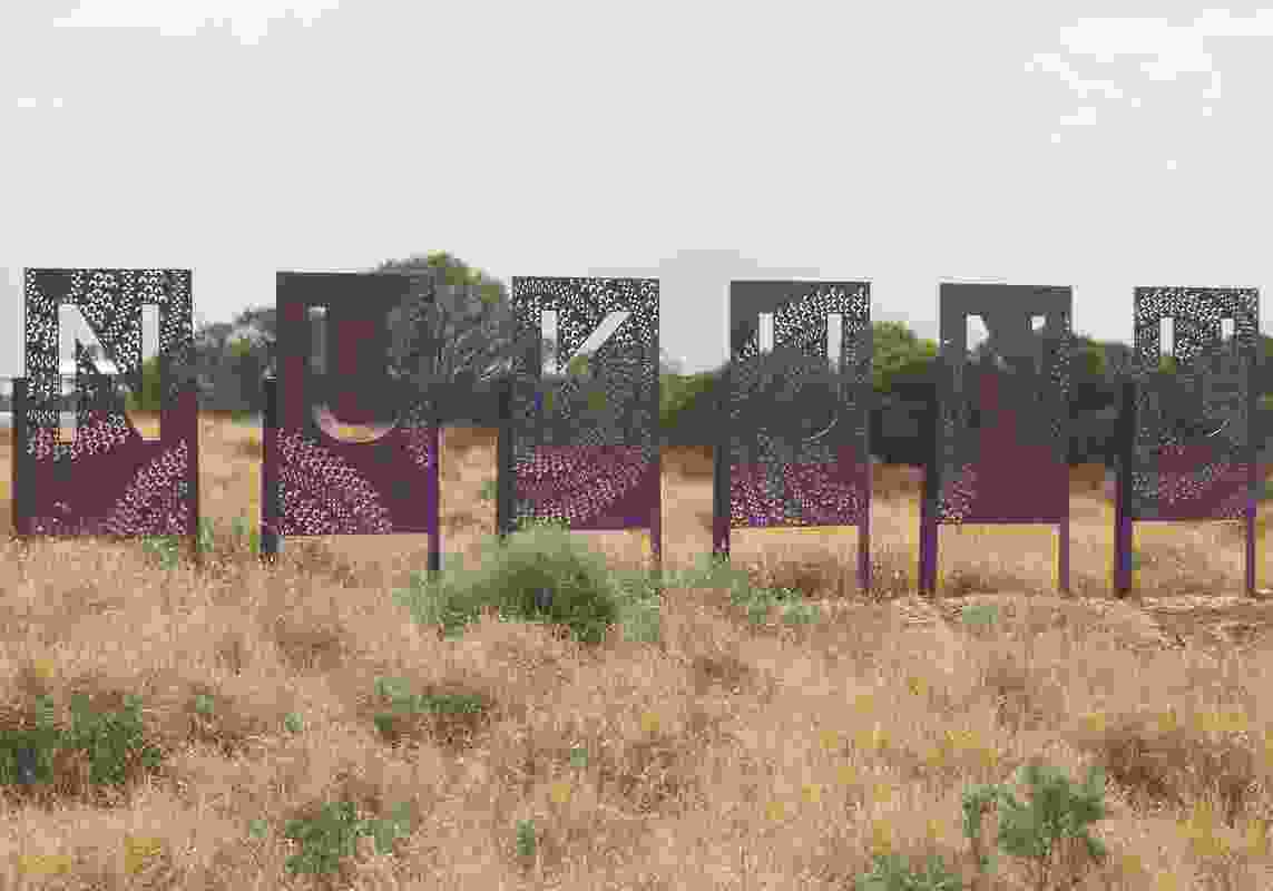 Acknowledgement of Aboriginal Country Signage by Department of Planning, Transport and Infrastructure (SA)