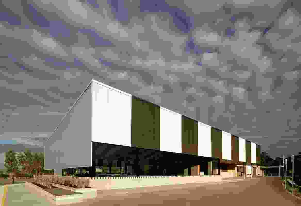 Kalora Park Sports Club by Wowowa Architecture.