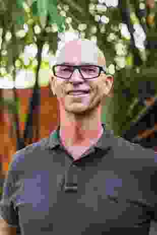 Landscape designer Steven Clegg, principal of Steven Clegg Design.