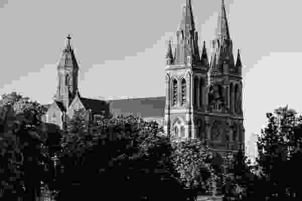 Built in 1869, St. Peter's cathedral was designed by William Butterfield and Edward John Woods – the latter went on to found Woods Bagot with Walter Bagot.