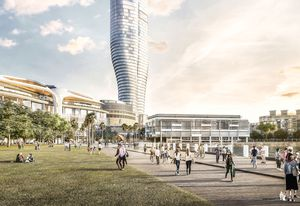 Star Casino's 51-storey tower by FJMT.