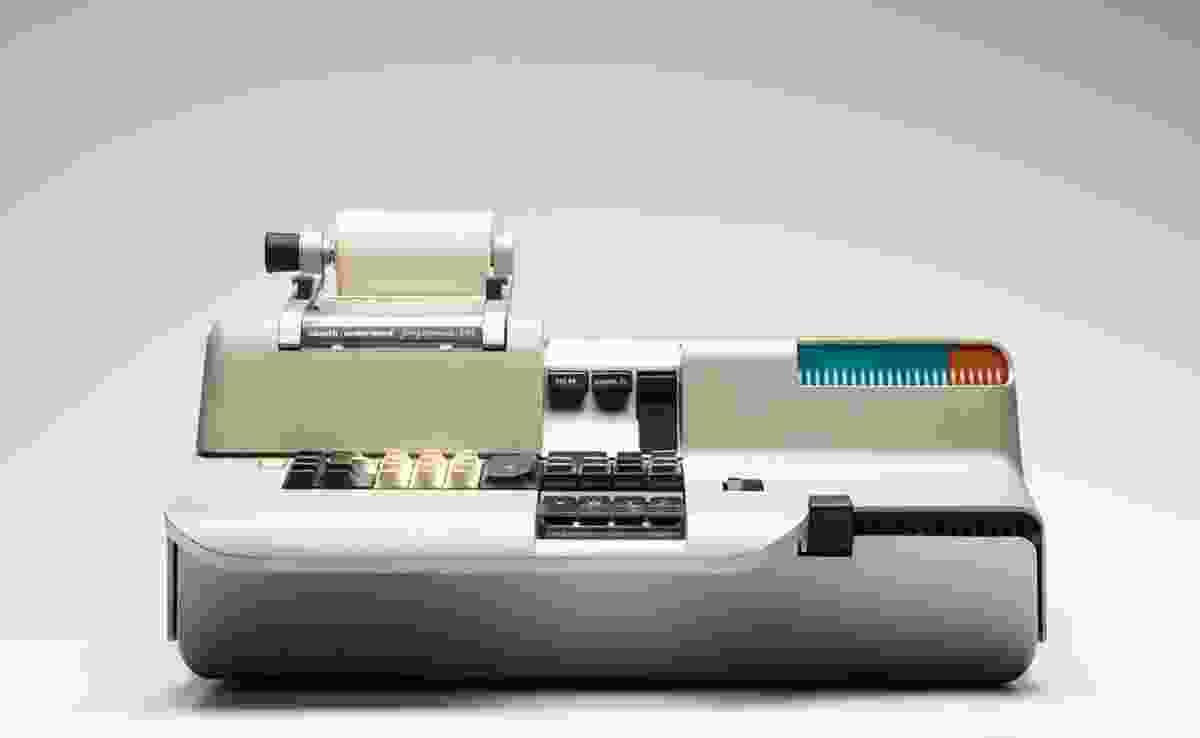 Programma 101 personal computer designed by Mario Bellini and Piero Giorgio Perotto for Olivetti, 1965–1971.