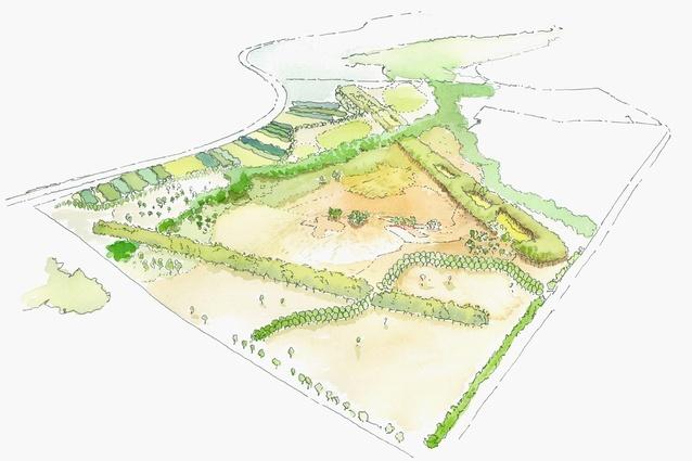 JMD Design's original design for the park