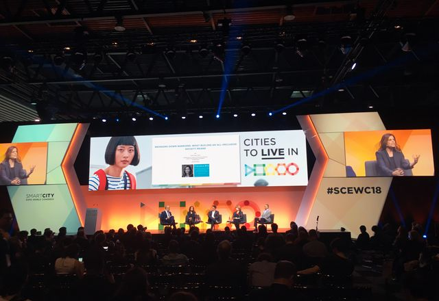 The 2018 Smart City World Expo took place in Barcelona in November.
