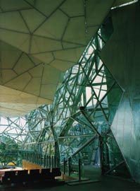 South Atrium, housing the BMW Edge amphitheatre. Image: Trevor Mein.