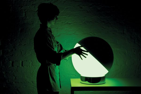 Flynn Talbot, X&Y Light, a finalist in the Bombay Sapphire Design Discovery Awards 2011.