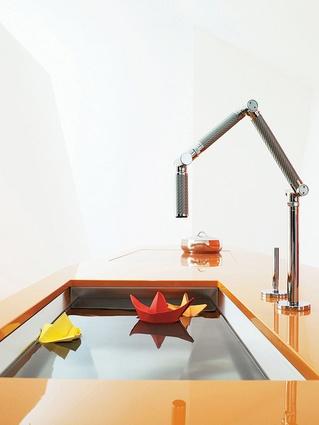 Karbon mixer from Kohler.