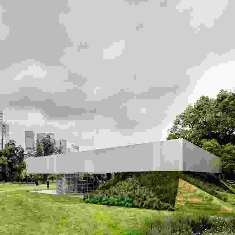 MPavilion by Office for Metropolitan Architecture.
